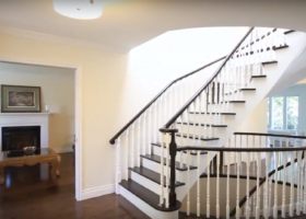 Hardwood Installation - Stair Refinish